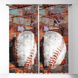 Baseball art print work 11 Blackout Curtain