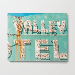 Valley Tel Metal Print