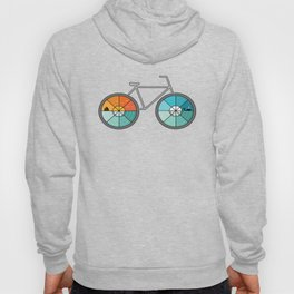 Bicycle Landscape Hoody