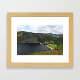 Lough Tay Framed Art Print