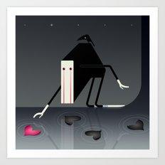 Mr. Lonely Art Print