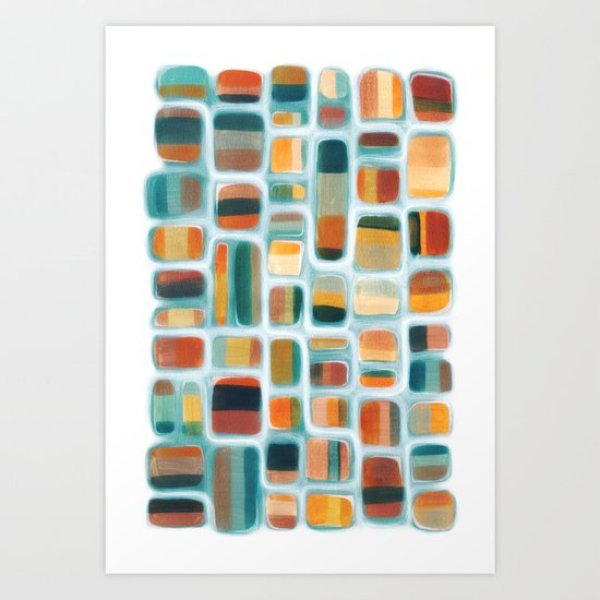Color apothecary Art Print