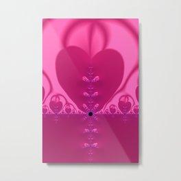 Fractal Love Metal Print