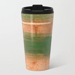 Peru green streaked wash drawing illustration Travel Mug