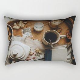 Tea Service Still Life III Rectangular Pillow