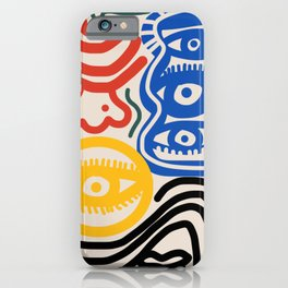 Candid man iPhone Case