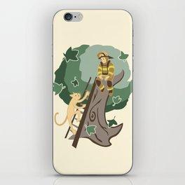 Stuck in a Tree iPhone Skin