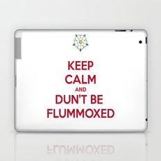 Keep Calm and Dun't Be Flummoxed Laptop & iPad Skin