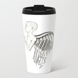 Goodbye Angels Illustration Metal Travel Mug