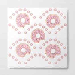 Dreams Of Donuts Metal Print