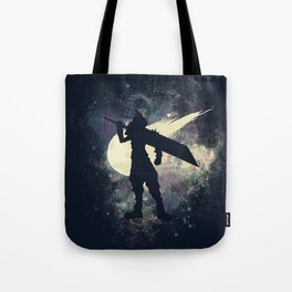 Cloud Space Tote Bag