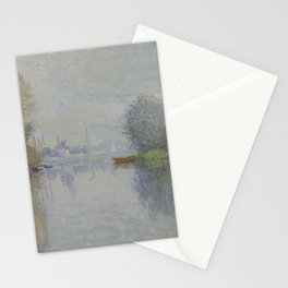 Autumn on the Seine, Argenteuil Stationery Cards