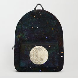 The Flower of Life Moon 2 Backpack