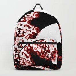 Yin and Yang Chaos or Order Abstract Backpack