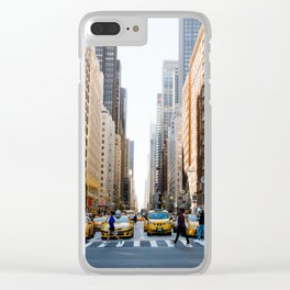 New York Minute Clear iPhone Case
