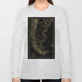 Patagonia - Black and Gold Long Sleeve T-shirt