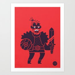 Barbarian Art Print
