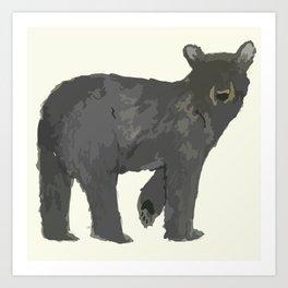 Winter Bearies Art Print