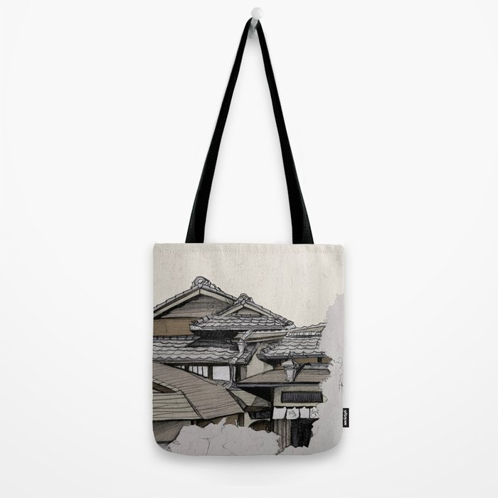 Vintage Gion Tote Bag