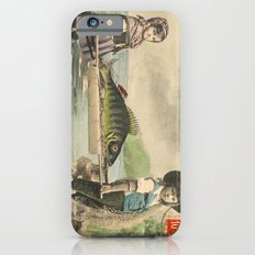 The April Fish - Vintage / Antique French Post Card - Piosson D'Avril - April Fools Day Slim Case iPhone 6s