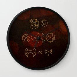 Demons run Wall Clock