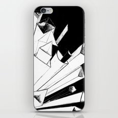 Shooting Shapes iPhone & iPod Skin