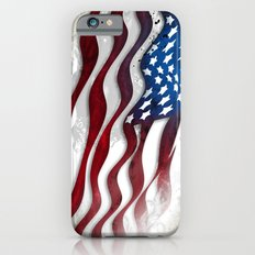 Old Glory...long may she wave iPhone 6s Slim Case