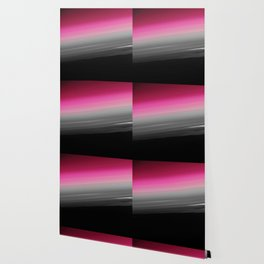 Pink Gray Black Ombre Wallpaper