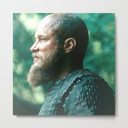 King Ragnar Metal Print