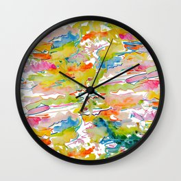 Alexia's Painting Wall Clock
