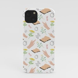 Magical symbols and herbs iPhone Case