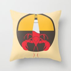 Lobster House Throw Pillow