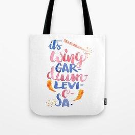It's Wing-Gar-Dium-Levi-O-Sa Tote Bag