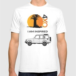 I AM INSPIRED DISCOVERY T-shirt