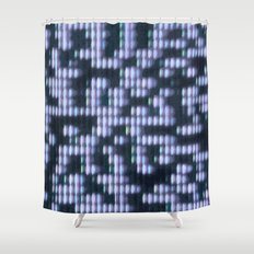 Painted Attenuation 1.2.4 Shower Curtain