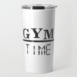 GYM TIME Travel Mug