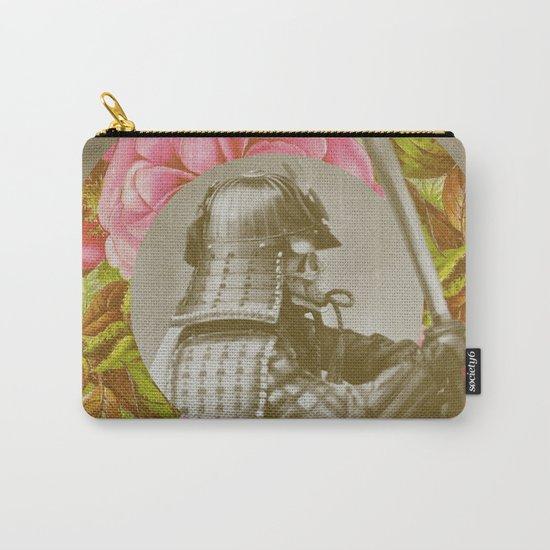Botanical Samurai Carry-All Pouch