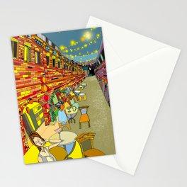 Le Cafe de Nuit  Stationery Cards
