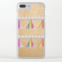 Boho Life Clear iPhone Case