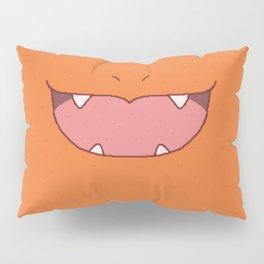 Pixel Fire Starter Mouth Pillow Sham