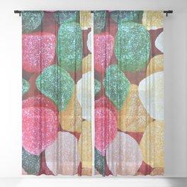 Gum Drops Sheer Curtain