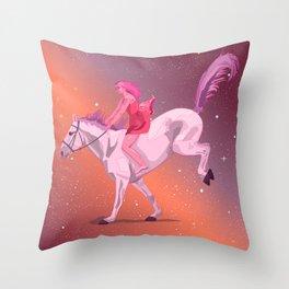 Stargirl Throw Pillow