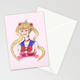 Sailor Moon -- No, thanks Stationery Cards
