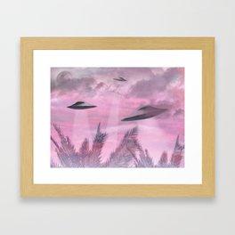 Alien Age Framed Art Print