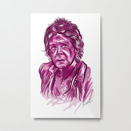 Carol Peletier - The Walking Dead Metal Print