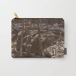 Forest stream Carry-All Pouch