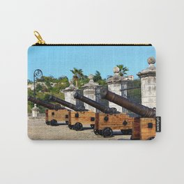 Cannons at Morro Castle Carry-All Pouch