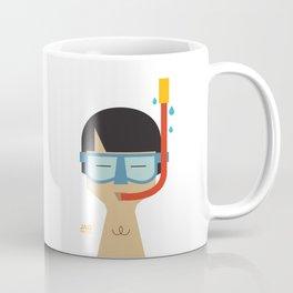 Snorkeler Coffee Mug