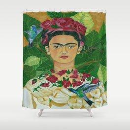 Frida In Heaven Shower Curtain