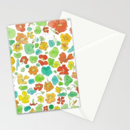 Nasturtium study x Stationery Cards